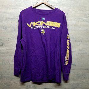 Minnesota Vikings NFL Team Long Sleeve Shirt. Soft
